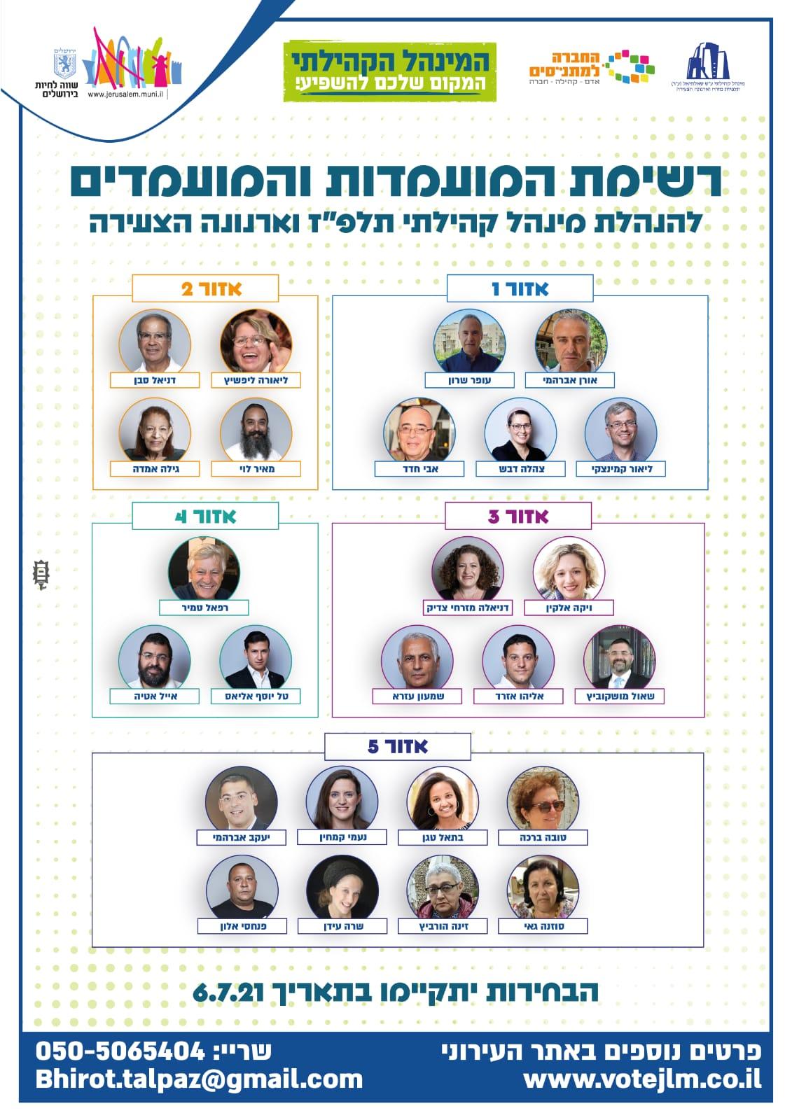 רשימת מועמדים